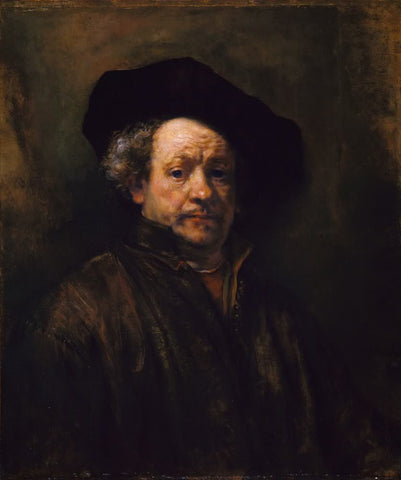 Self Portrait (1660) by Rembrandt
