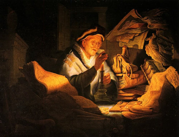 The Rich Fool (1627) by Rembrandt