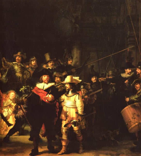 The vigil by Rembrandt