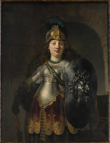 Bellona (1633) by Rembrandt