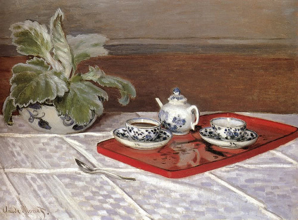 The Tea Set by Monet