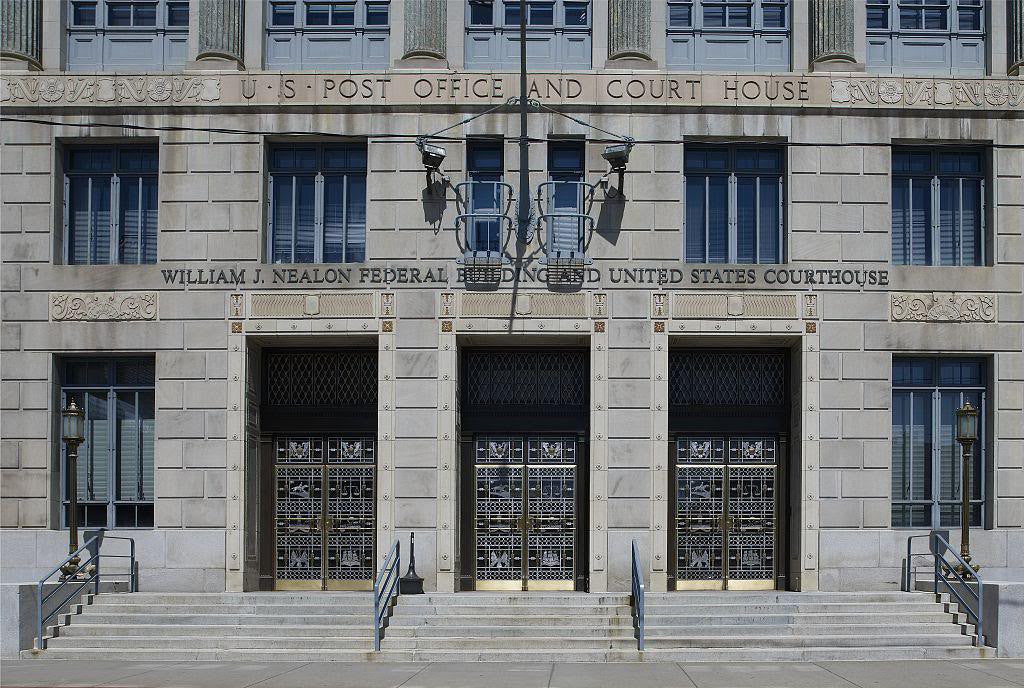 Exterior Doors Robert J Nealon Federal Building And Us Courthouse