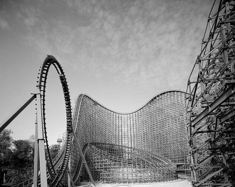 "Ohio's ""Son of Beast"" roller coaster at King's Island Ohio"