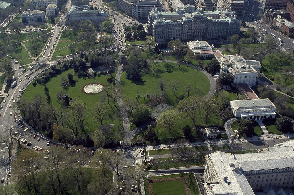 Marvelous Aerial View Of The White House Washington D C Download Free Architecture Designs Scobabritishbridgeorg