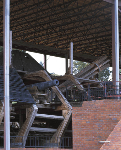 Siege gun from USS Cairo at Vicksburg National Military Park Mississippi