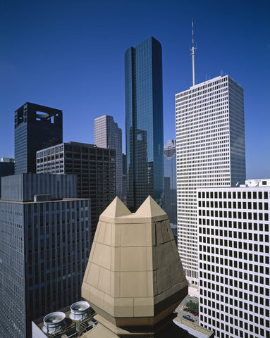 Rooftop view of Houston Texas
