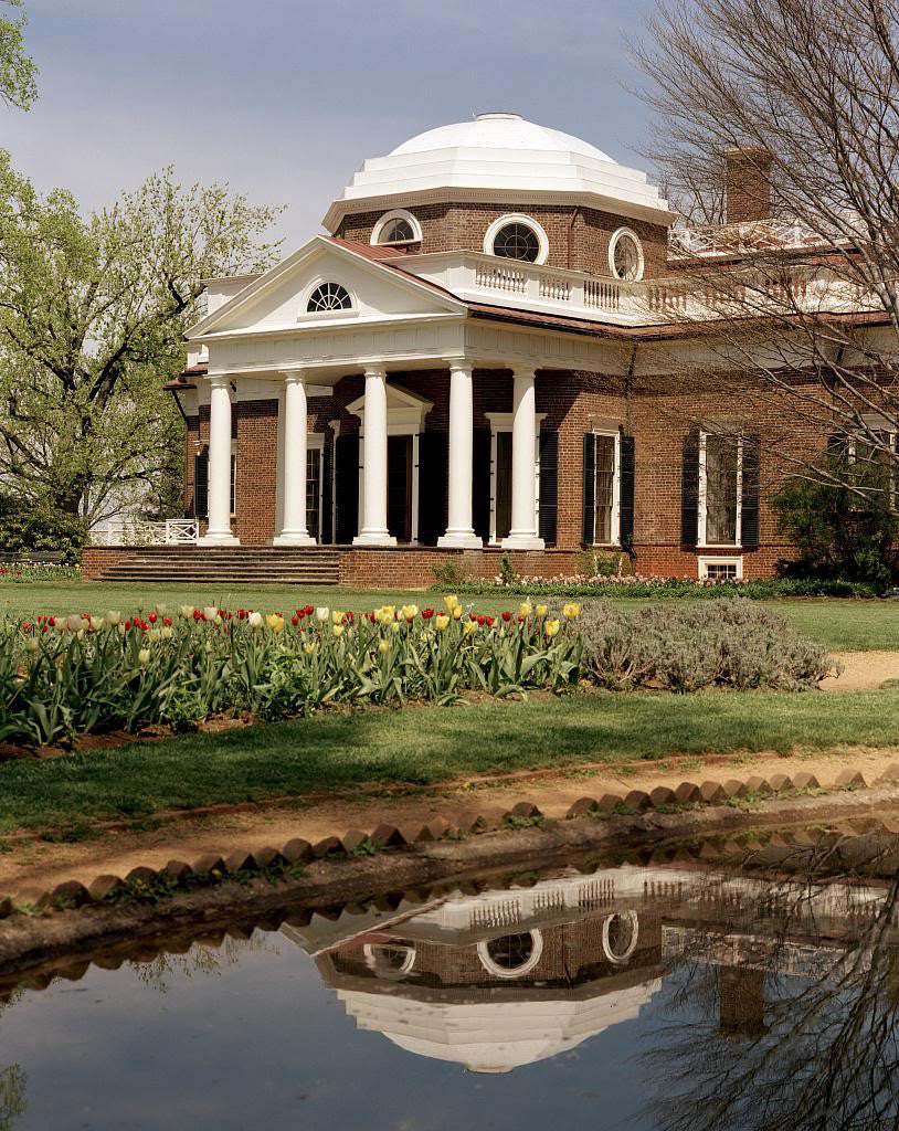 Phenomenal Monticello Thomas Jeffersons Home Charlottesville Virginia Home Interior And Landscaping Synyenasavecom