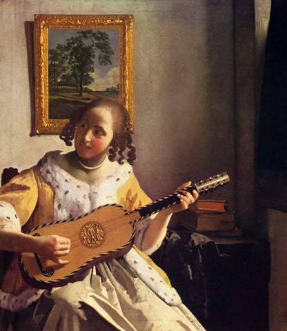 The Guitar Player (1672) by Johannes Vermeer