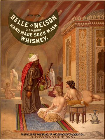 Belle of Nelson Whiskey poster