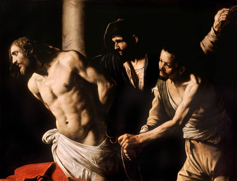 Christ at the Column (1607) by Caravaggio