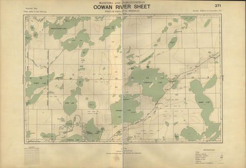Cowan River Sectional Map 371 (1917)