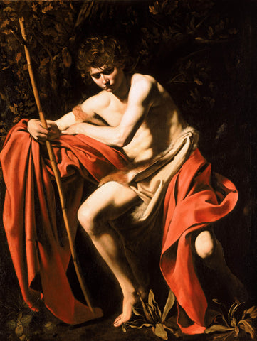 John the Baptist (1604) by Caravaggio