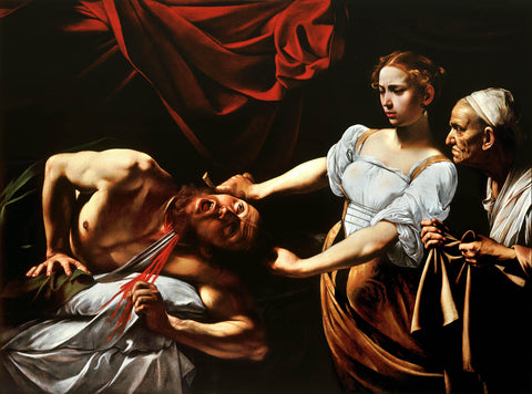 Judith Beheading Holofernes (1599) by Caravaggio