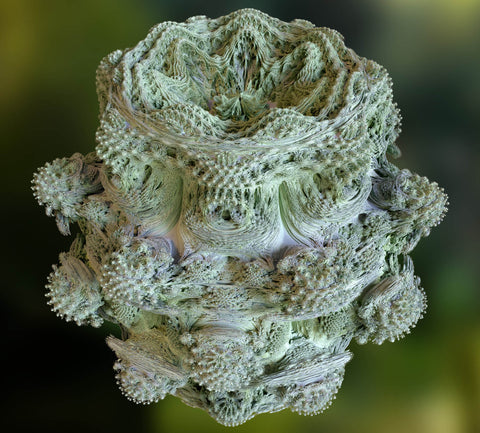 Power 8 mandelbulb fractal overview