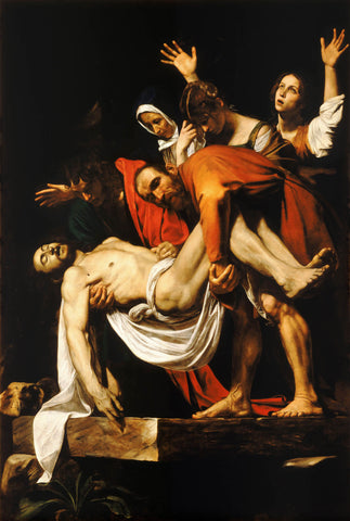 The Entombment of Christ (1603) by Caravaggio
