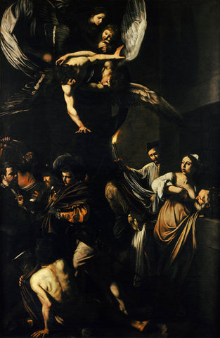 The Seven Works of Mercy (1607) Caravaggio