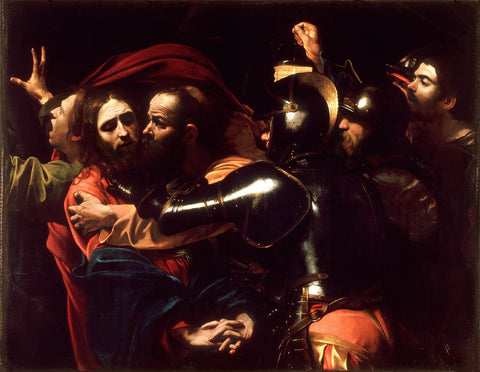 The Taking of Christ (1602) Caravaggio
