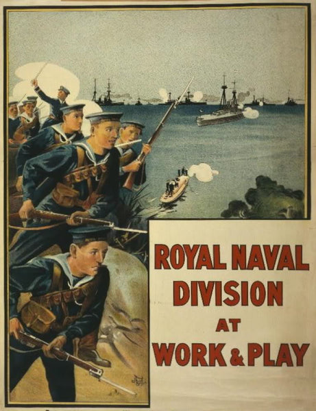 Royal Naval Division at work & play