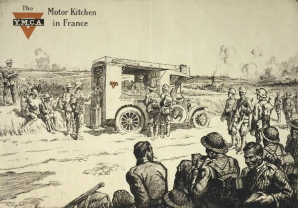 The Y.M.C.A. motor kitchen in France