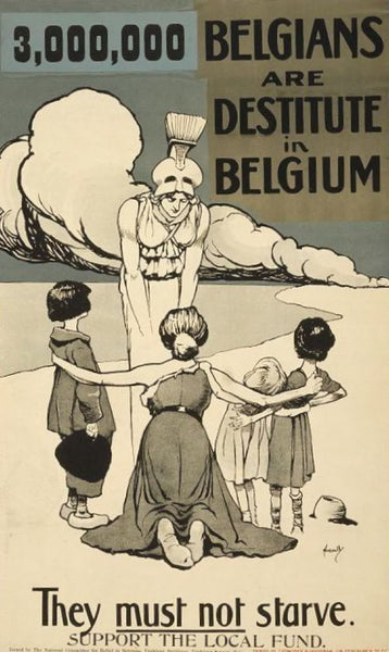 3000000 Belgians are destitute in Belgium. They must not starve. Support the local fund