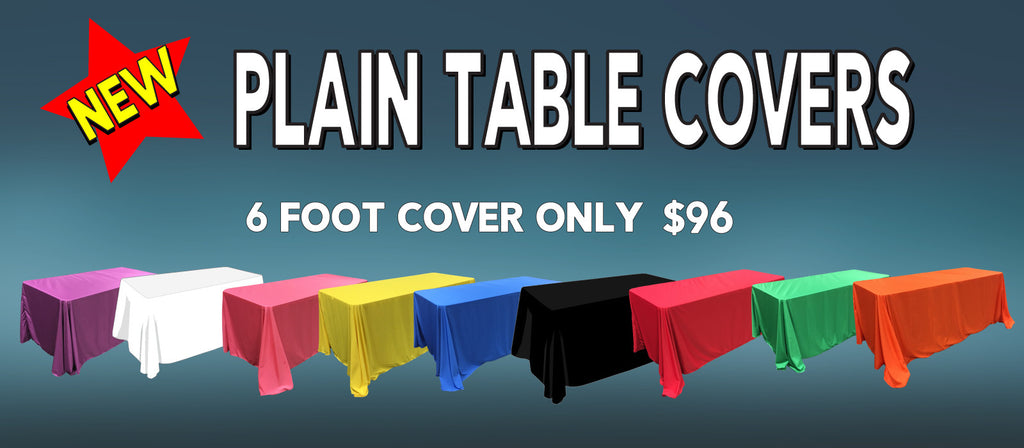 Plain Table Covers