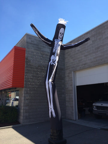 Skeleton Air Dancer 18 foot full print