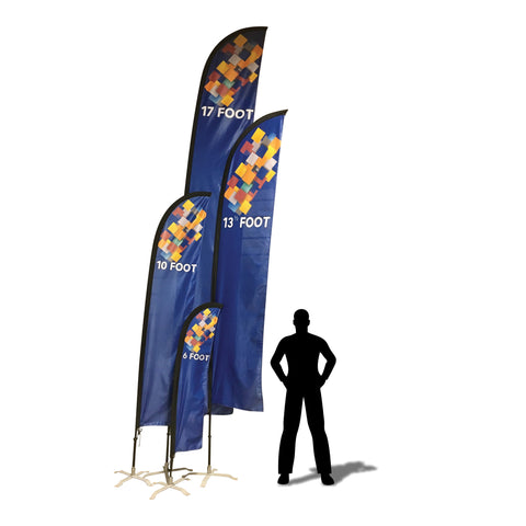Custom Print Advertising Feather Flags