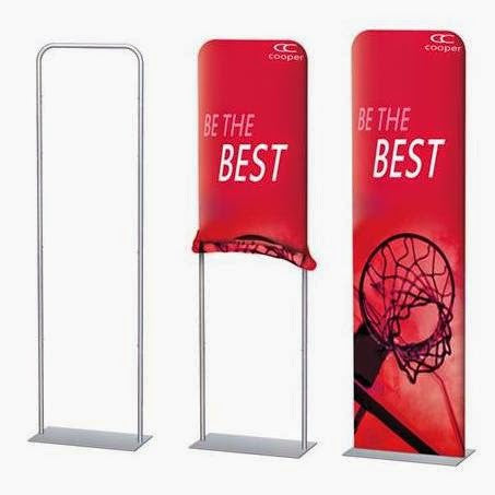Harmony Banner - double sided graphics with Stand