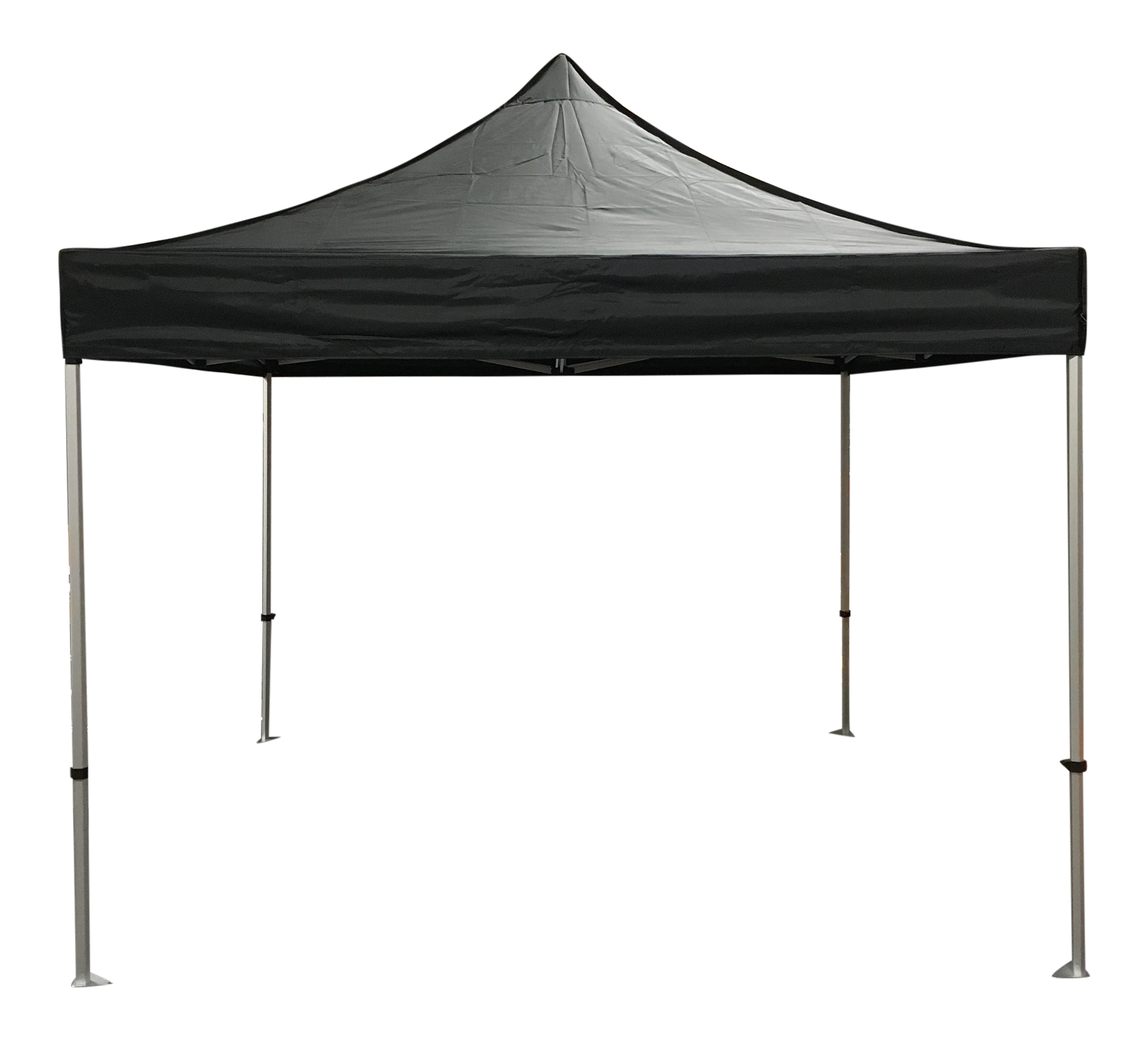 Economy 10x10 Solid Colour Canopy Tent Package