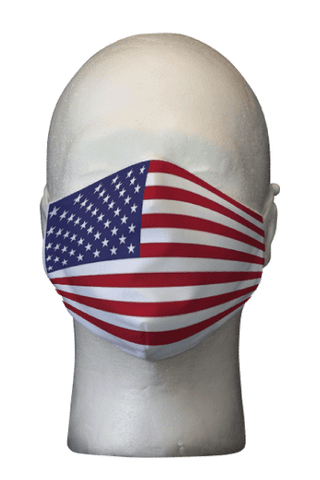 USA Flag Face Mask