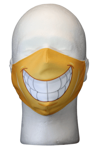 Happy Face Smile Mask