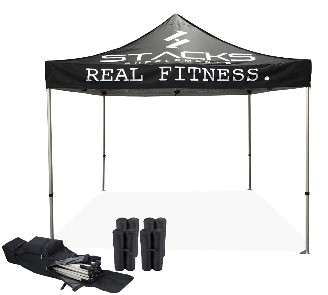 Custom Tent 10x10 Package 1 Made In Canada