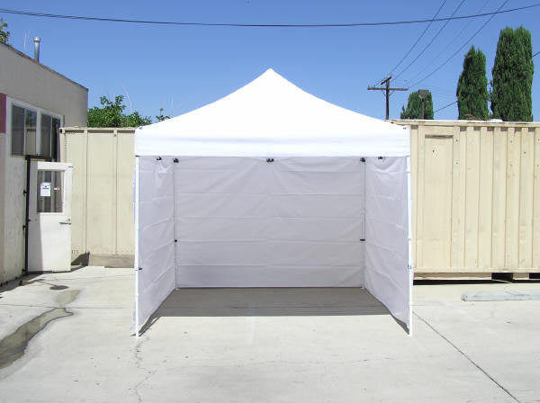 Economy 10' Solid Colour Tent Wall
