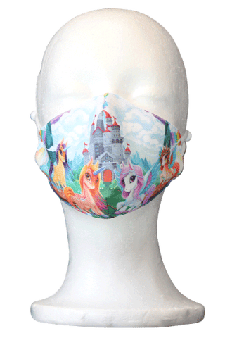 Unicorn Kids Fabric Face Mask