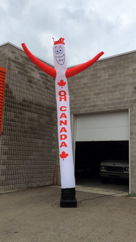 OH Canada Printed Air Dancer 18 foot