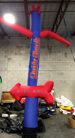 Custom Printed 15 foot Arrow Air Dancer