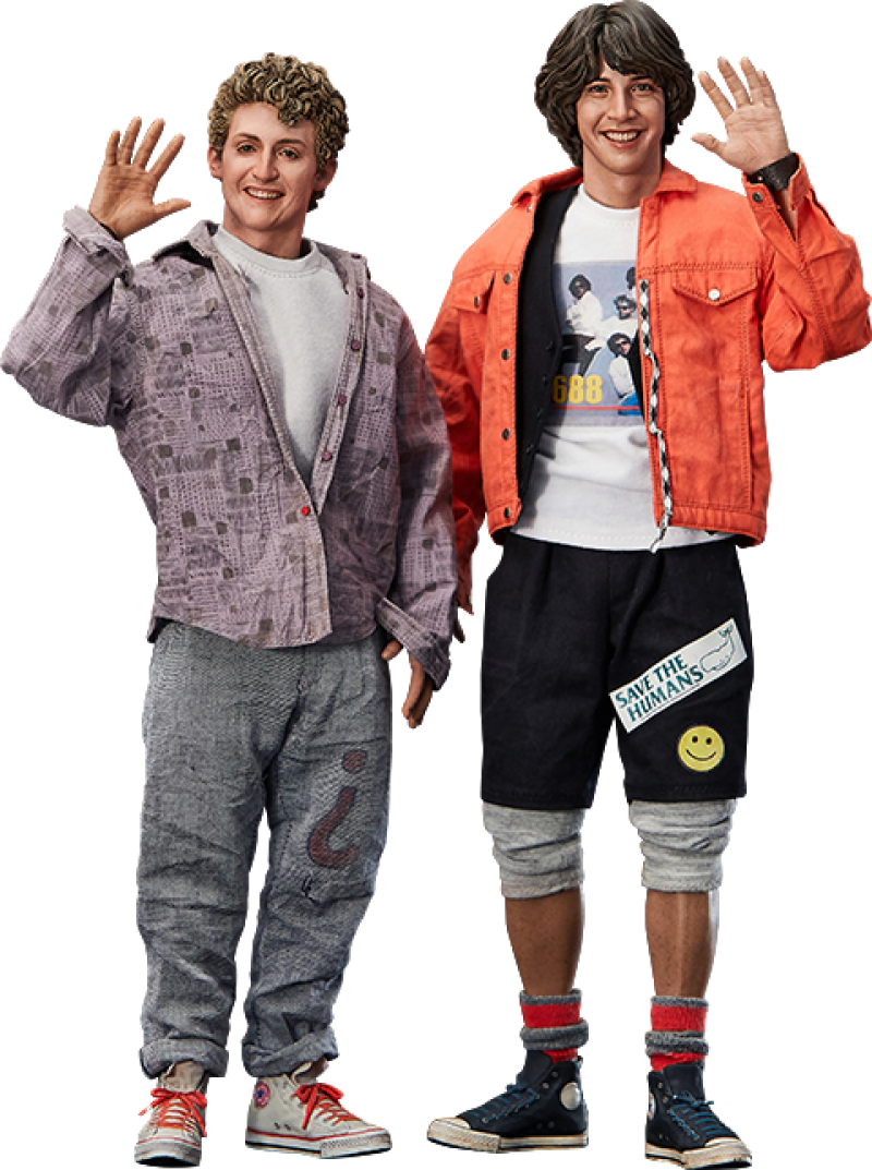 Bill & Ted Sixth Scale Collectible Figure Set