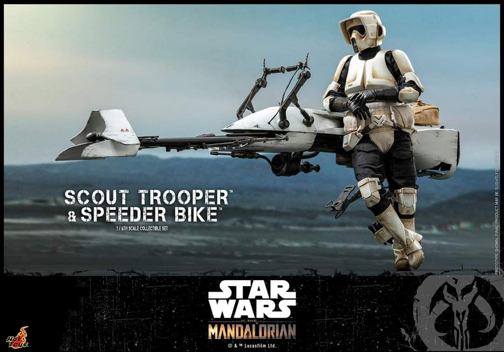 The Mandalorian: Scout Trooper & Speeder Bike