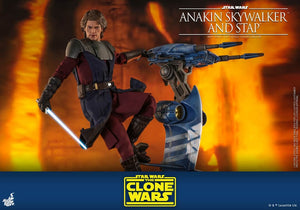 Anakin Skywalker and Stap