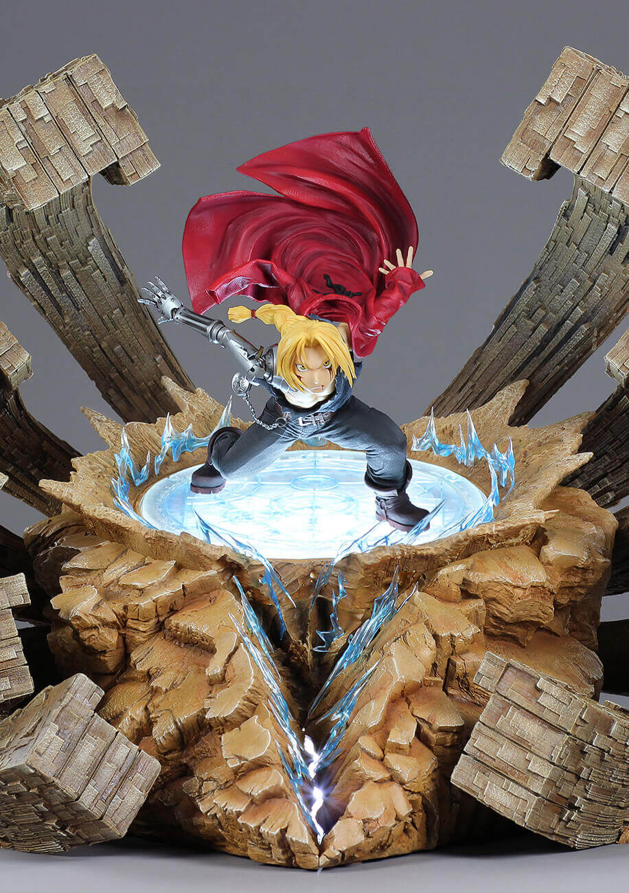 Edward Elric - A Fierce Counterattack