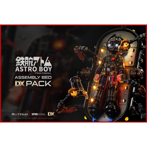 Astro Boy Assembly Deluxe Pack