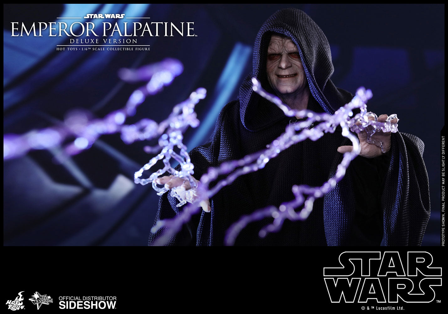 Emperor Palpatine On Throne (Deluxe)
