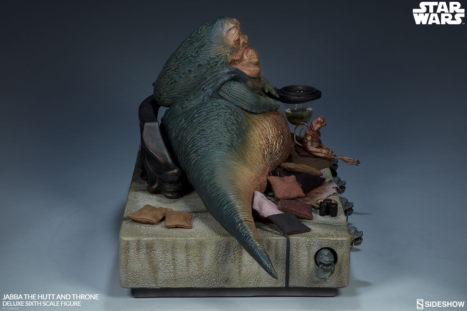 Jabba The Hutt and Throne Deluxe