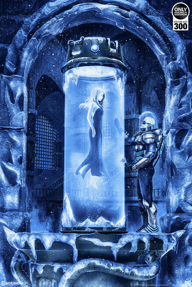 Mr. Freeze: Heart of Ice Fine Art Print