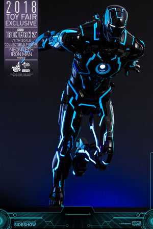 Neon Tech Iron Man Mark IV