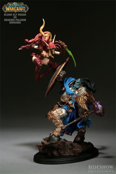 Blood Elf vs Draenei Diorama Exclusive