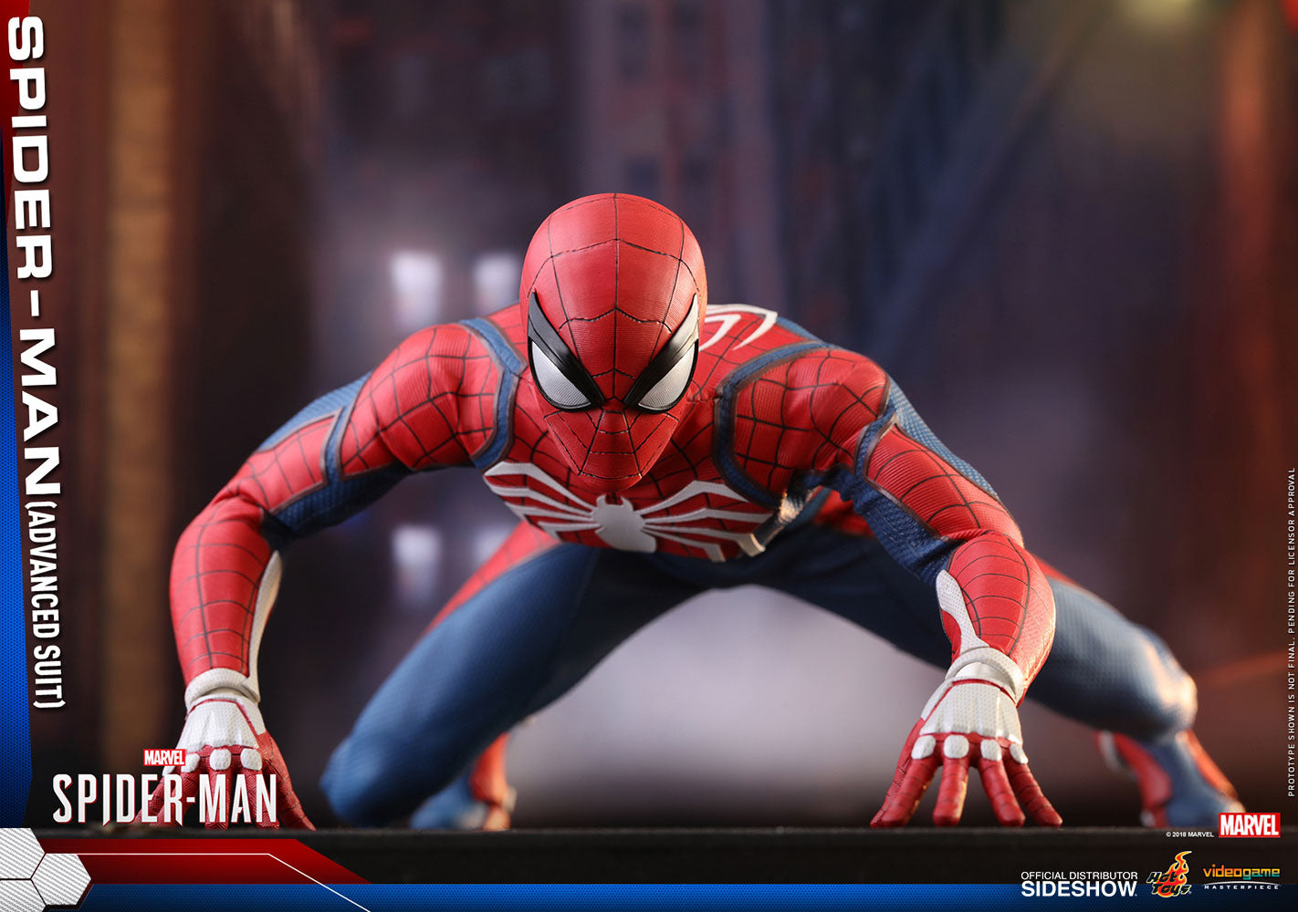 Spider-Man Advanced Suit