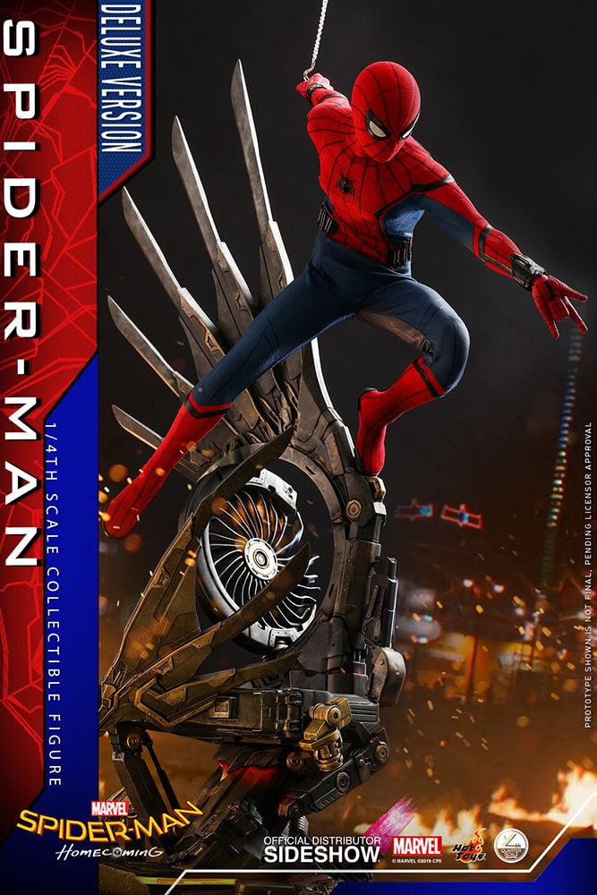Spider-Man Quarter Scale Figure (Deluxe)