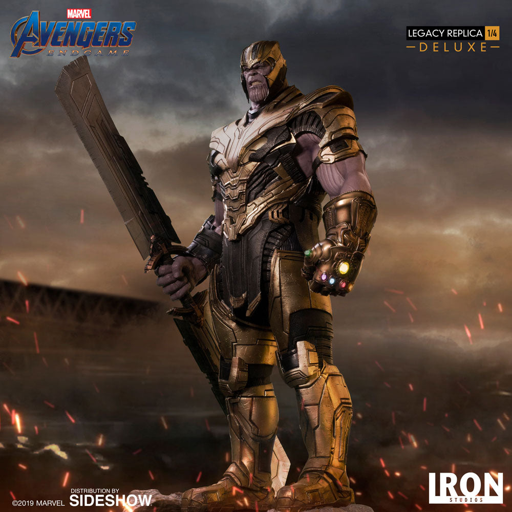 Thanos Legendary Scale Statue (Deluxe)