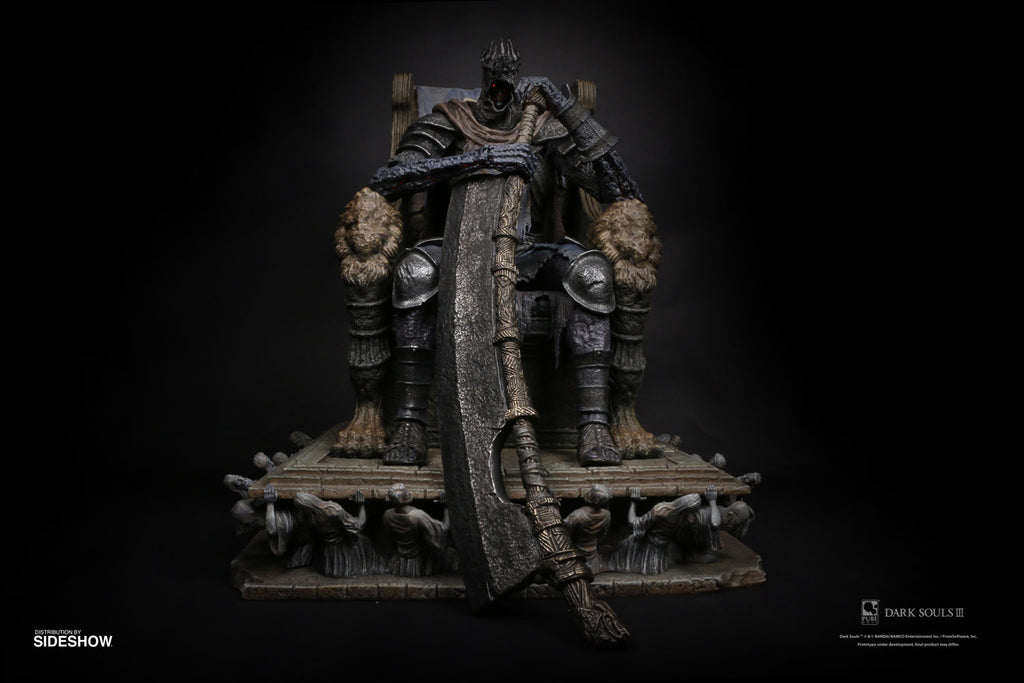 Yhorm The Giant on Throne (1:12 Scale)